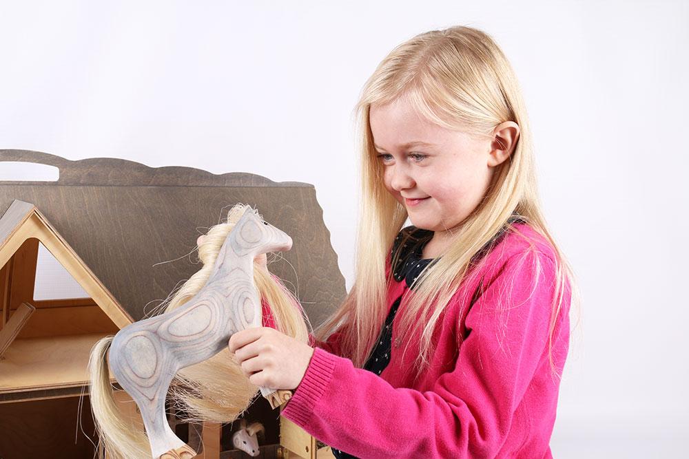Horse - Albino - Matt