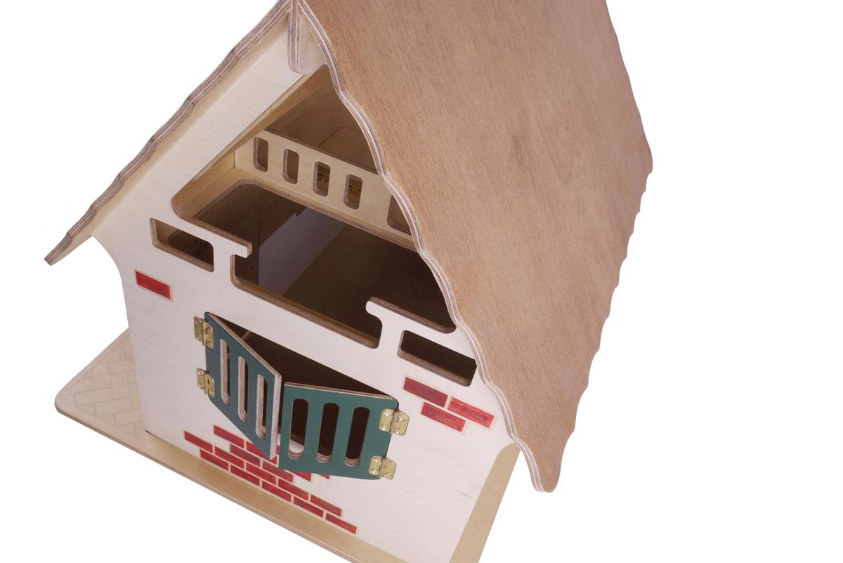 Single Barn Stable - Amber / White wash / Dark green / Red Brick / Herringbone